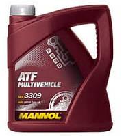 Трансмиссионное масло ATF Multivehicle  MANNOL 4л