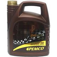 Масло для грузовых автомобилей и автобусов Pemco Diesel G-5 SAE 10W-40  5л