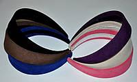 Велюровые обручи для волос (12 шт)