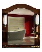 Зеркало с подсветкой «Свеча» и полочкой (декорированное, размер 69х58 см)