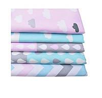 Набор тканей (Ткань) для Пэчворка 40x50 см 5 шт