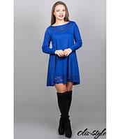 Женское   платье  Лучия электрик   Olis-Style 46-52 размеры