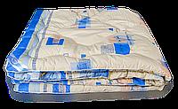 Двуспальное стёганное одеяло Leleka - оптима антиаллергенное волокно, 172*205 см, Украина