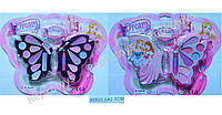 Косметика в форме бабочки, 2 вида, на листе (ОПТОМ) 4119AB