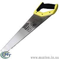 Ножовка столярная 450 мм, каленый зуб, 3-D заточка, полированная MasterTool