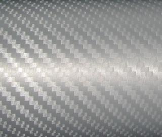 Карбонова плівка сіра 152х100см