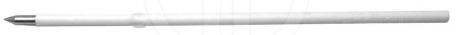 """Стержень шариковый """"Economix"""" короткий с ушком черный (107мм) Е10602"""