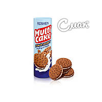 Крекер Roshen Multicake c молочо - кремовой начинкой, 135г