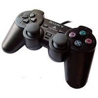 Джойстик проводной PS2 wire, Проводной геймпад, Джойстик sony, геймпад ps2