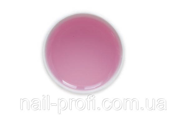 Гель прозрачно-розовый(pink) 15 мл