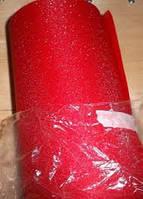Пленка для тонировки фар алмазная крошка красная