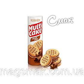 Печенье - сендвич Roshen Multicake c начинкой какао, 180 г