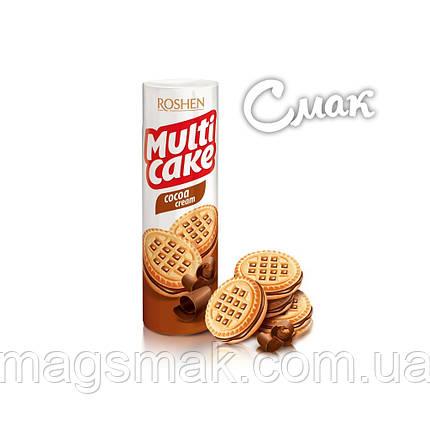 Печенье - сендвич Roshen Multicake c начинкой какао, 180 г, фото 2