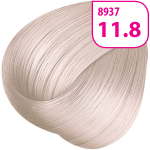 Стойкая СС крем-краска для волос KRASA с маслом амлы и аргинином тон 11.8 Ультраосветляющий блонд жемчужный