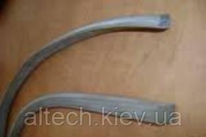 Шнур резиновый прямоугольного сечения маслостойкий, кислотощелочестойкий и пищевой