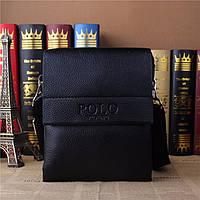 Мужская сумка Polo маленькая (черная)