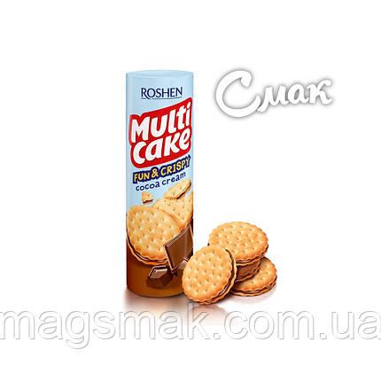 Крекер Roshen Multicake с начинкой какао, 135 г, фото 2