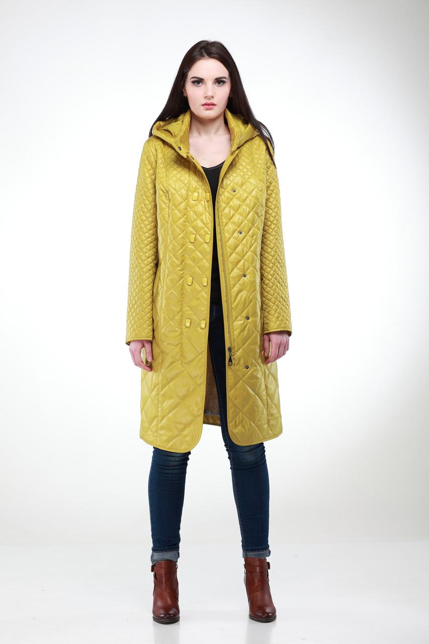 """Весенняя длинная куртка в деловом стиле размер 50 - 60, беж, горчичный, красный, синий - Интернет - магазин """"MariModa"""" в Киеве"""