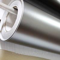 Пленка виниловая серый мат с микроканалами