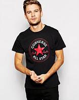 "Футболка мужская с принтом Converse All Star ""Ол Стар Конверс"""