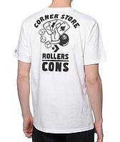 Футболка мужская стильная Converse Rollers