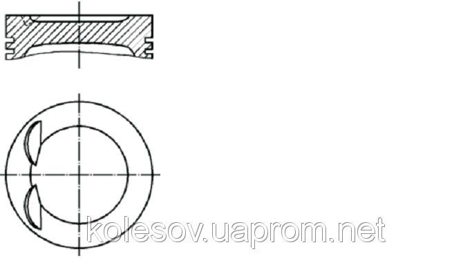 Поршни FORD Focus (Mondeo, Escort, Fiesta) 1.8 бенз.