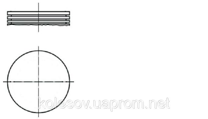 Поршни FORD Escort (Orion, Fiesta) 1.3 OHV