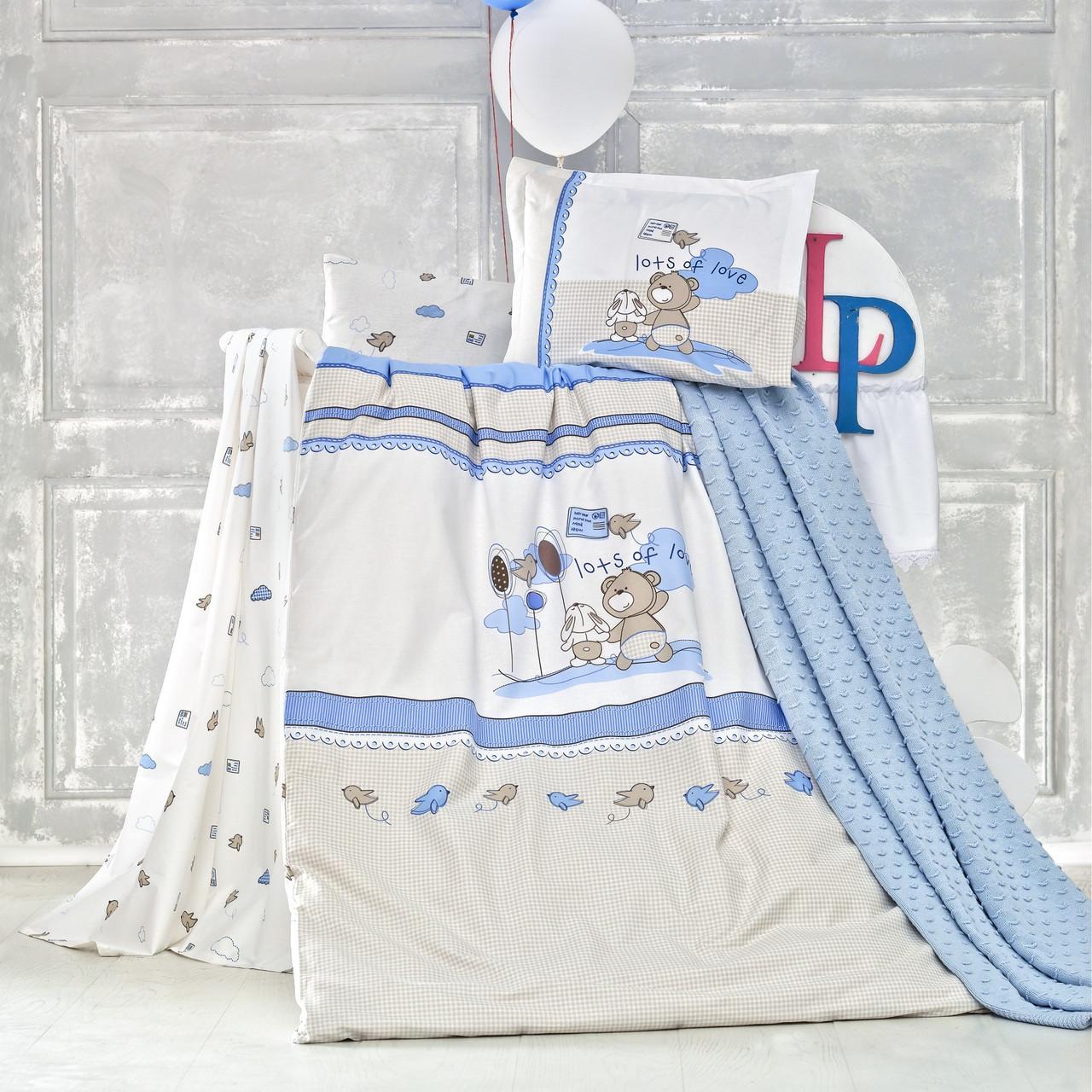 Комплект детского постельного белья с пледом Escape, Luoca Patisca