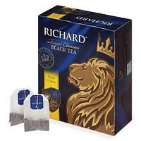 Чай Ричард (Richard Royal Ceylon) черный цейлонский 100 пакетов по 2г