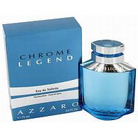 Мужская туалетная вода Azzaro Chrome Legend edt 125ml (Свежий, ароматный, водный аромат)