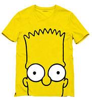"""Футболка мужская с принтом Bart Simpson """"Барт Симпсон"""""""