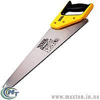 Ножовка столярная 450 мм, MAX CUT, каленый зуб, 3-D заточка, полированная MasterTool