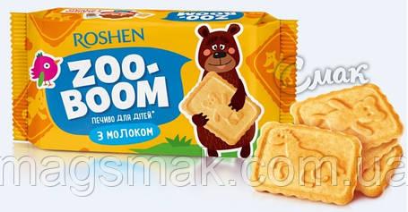 Сахарное печенье Zoo-boom c молоком, для детей, 68 г, фото 2