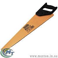 Ножовка столярная 500 мм MAX CUT, каленый зуб, 3-D заточка, порошковое покрытие MasterTool