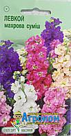 "Семена цветов Левкой махровая смесь, однолетнее 0,2 г, "" Елітсортнасіння"",  Украина"