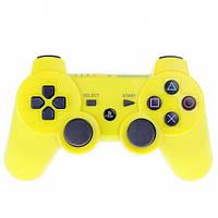 Джойстик PS3 беспроводной SIXAXIS Желтый