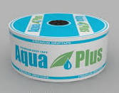 Лента капельного орошения, полива Aqua Рlus 8mil 10см 1000л/ч-300м (бухта)