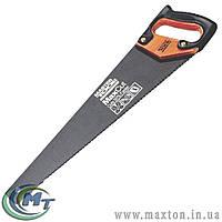 Ножовка столярная 400 мм, MAX CUT, каленый зуб, 3-D заточка, тефлоновое покрытие MasterTool