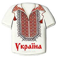"""Магнит - камень """"Украина: Рубашка №1"""""""