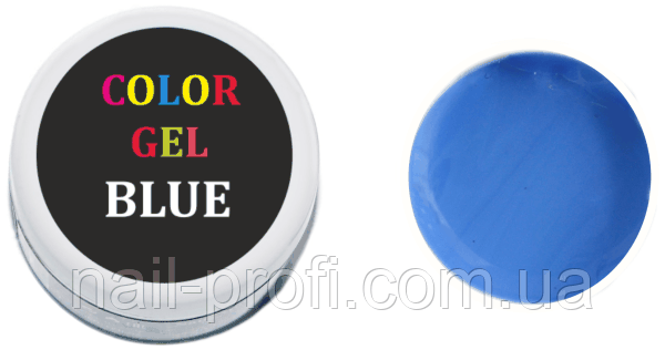 Гель-краска 5 мл(голубая)