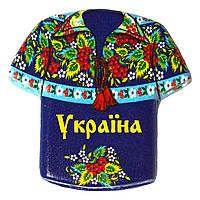 """Магнит - камень """"Украина: Рубашка №2"""""""
