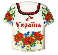 """Магніт - камінь """"Україна: Сорочка №7"""""""