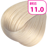 Стойкая СС крем-краска для волос KRASA с маслом амлы и аргинином тон 11.0 Ультраосветляющий блонд