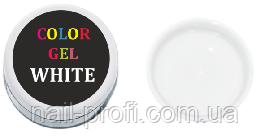 Гель-краска 5 мл (белая)
