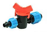 Кран для краплинної стрічки з підтиском, фото 3