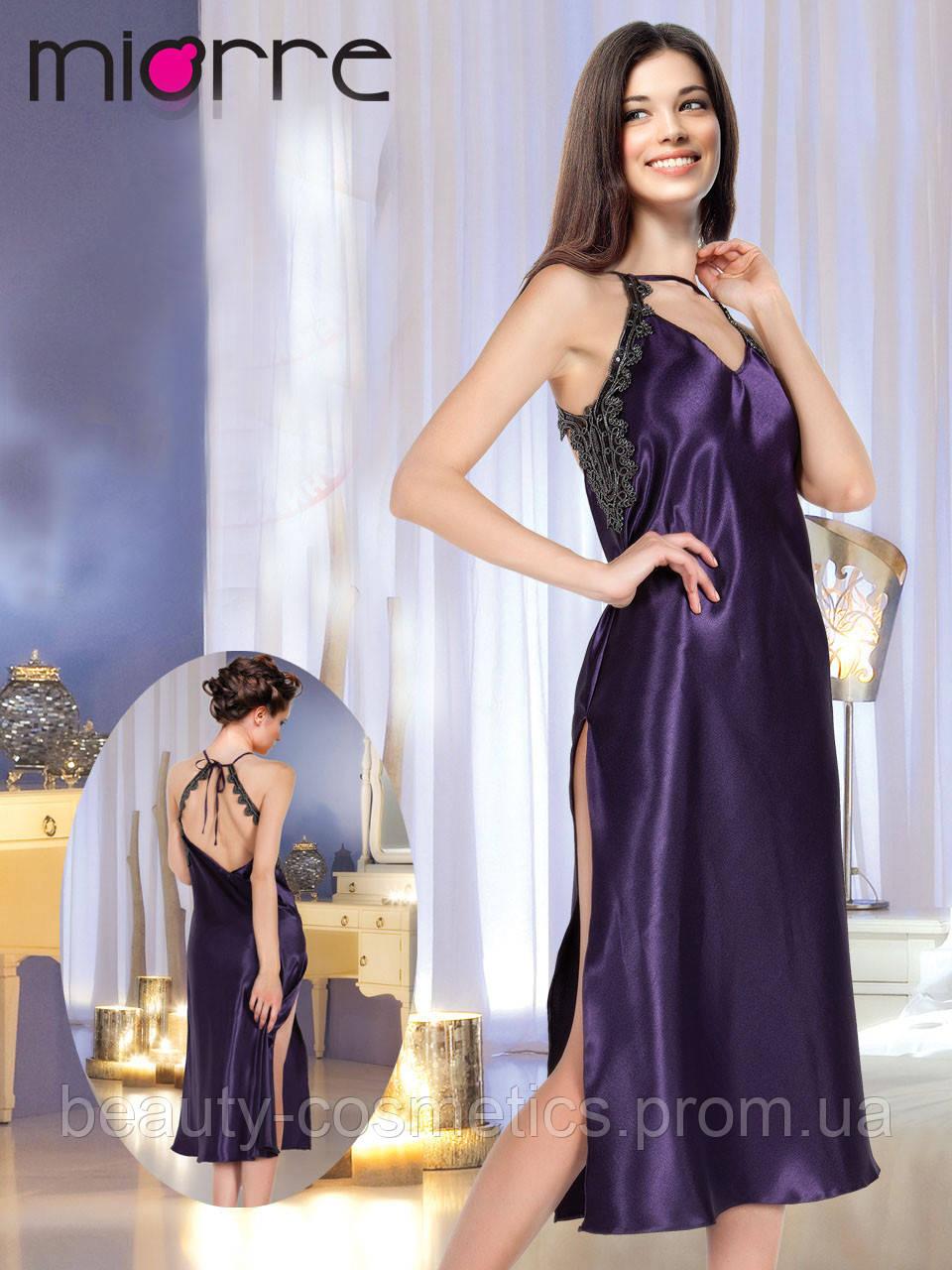 4842500ef4fe1d2 Роскошная длинная ночная сорочка Miorre открытая спина - Beauty Cosmetics в  Виннице