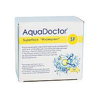 Флокулянт (коагулянт) в картриджах (8шт) для воды бассейна Superflock AquaDOCTOR , 1 кг