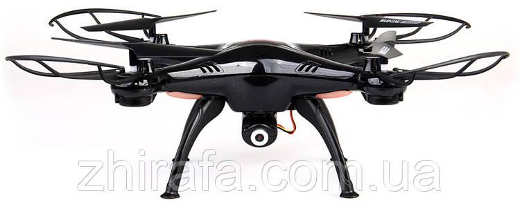 Квадрокоптер Syma X5SC HD+UPGRADE, черный
