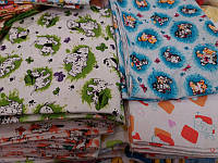 Пеленки детские для новорожденных ,байка,размер 110 см х 90 см оптом и в розницу S199