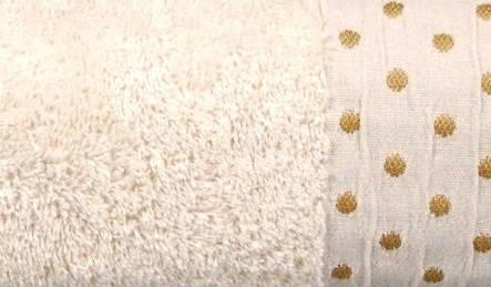 Махровое полотенце AMBER 70×130 кремовое 450г/м2, фото 2